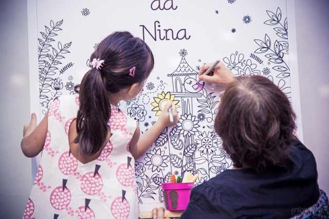 Aniversário de um aninho da Nina, fotografado dia 06.06.2015, no buffet Espaço Vila da Arte, por éricavighi.