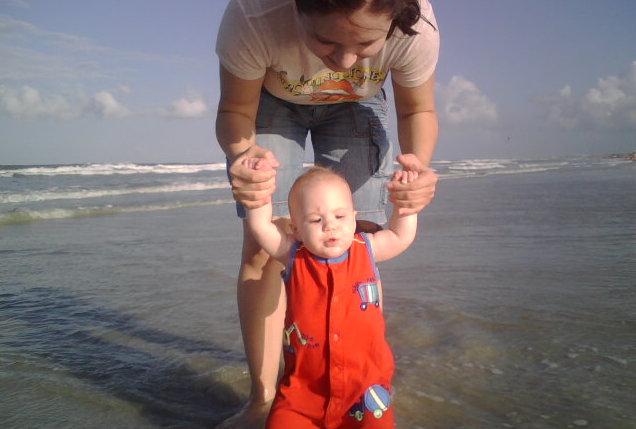 hora de ir na praia