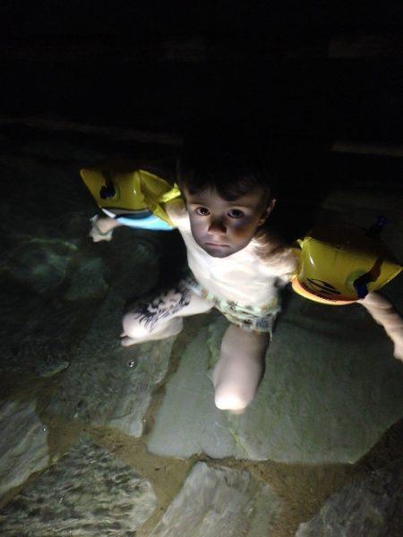 Rio Quente Resorts - piscina noite