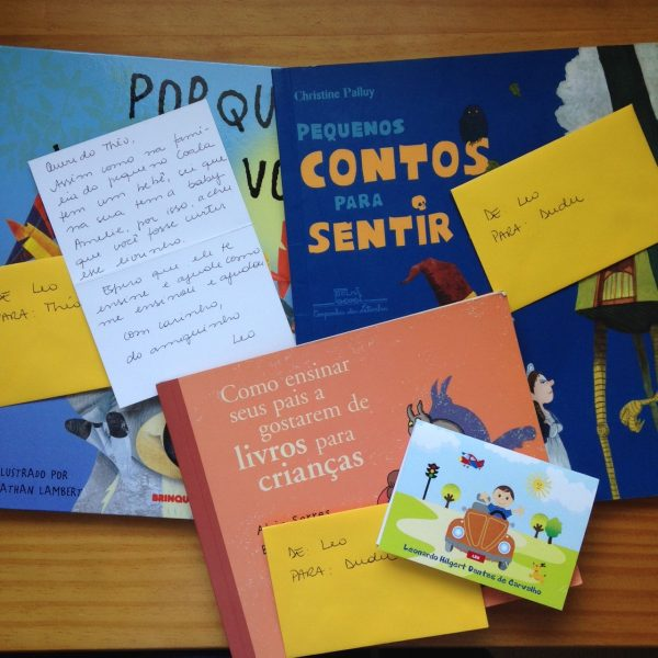 livros enviados
