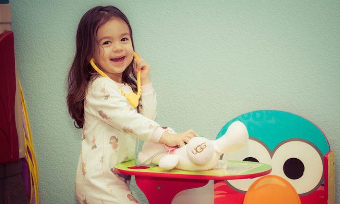 procedimento medico crianca