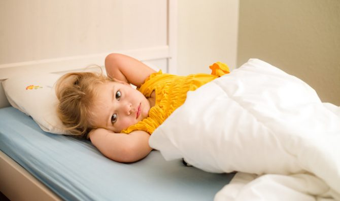 crianca dormir cedo