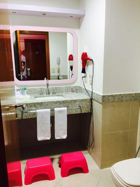 hotel paradise banheiro lilica