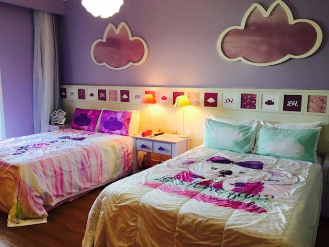 hotel paradise quarto lilica