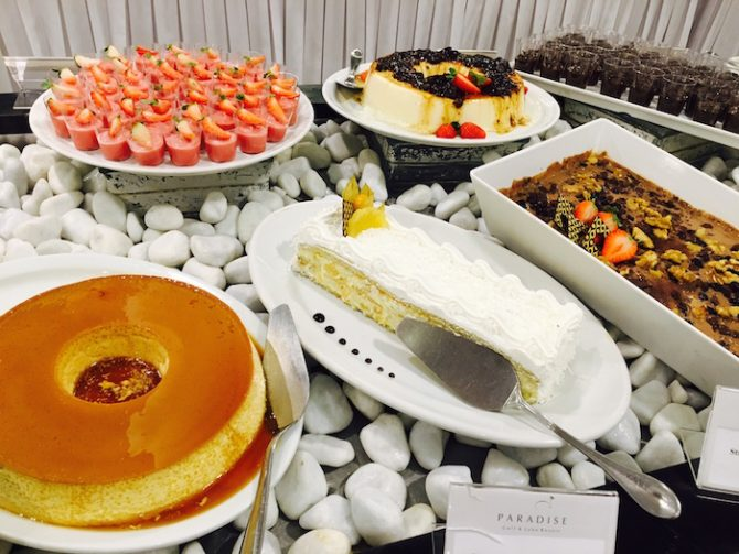 hotel paradise sobremesas