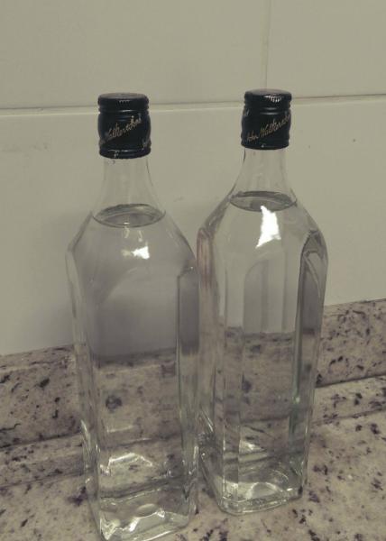 garrafas para aquecer cama