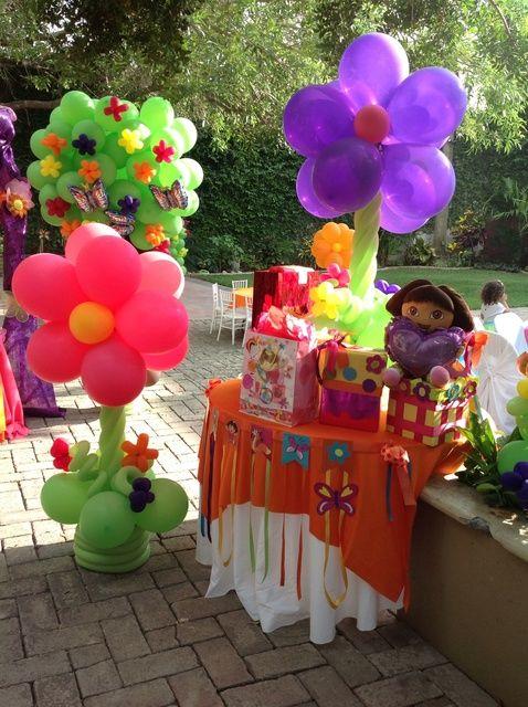 Festa tema Dora Aventureira