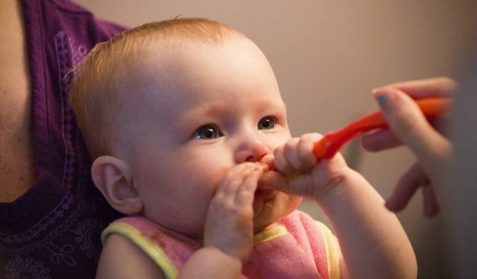 alimentos alergenicos para bebes
