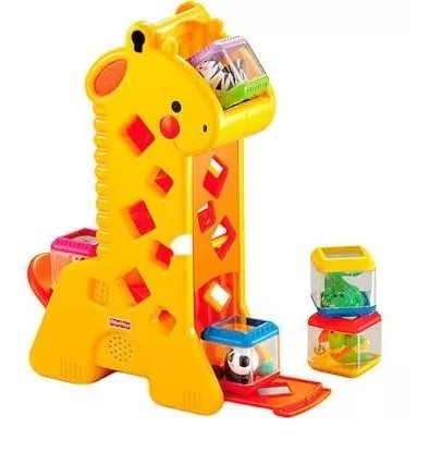 girafa fisher price