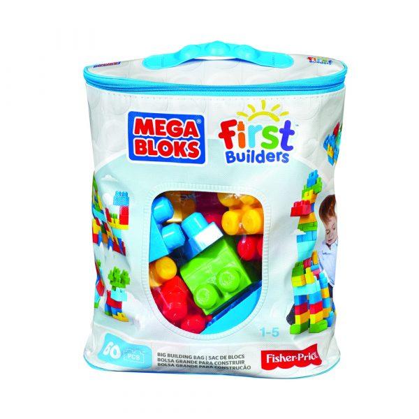 Sugestão de brinquedo: Sacola 60 Peças Mega Bloks First Builders