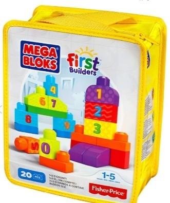 Sugestão de Brinquedo: Sacola 20 Peças – Números