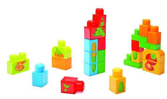 Sugestão de brinquedo: Mega Bloks Frutas e Vegetais