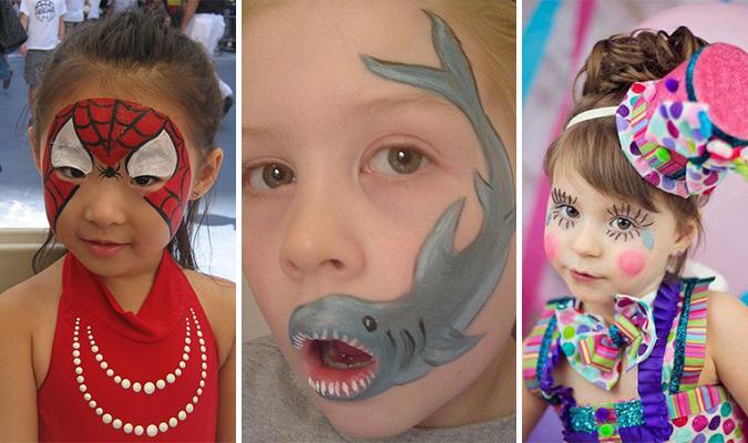 Maquiagem de carnaval para as crianças – idéias e dica super prática de como fazer