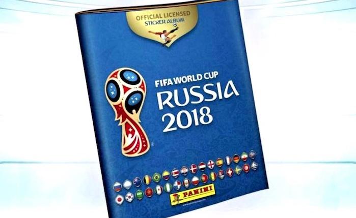 troca de figurinhas do álbum da Copa do Mundo