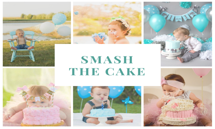 Smash the Cake - O ensaio que vira festa