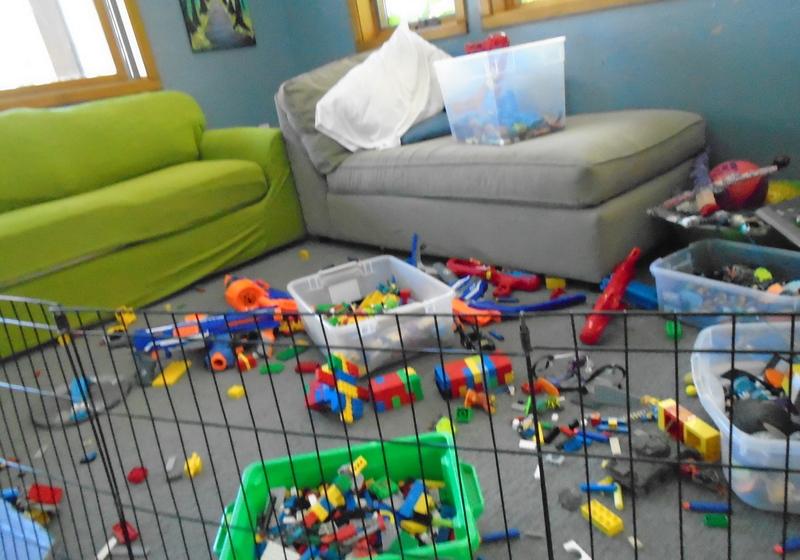 7 dias para organizar a casa (mesmo quando se tem crianças)