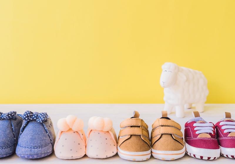 sapato da criança