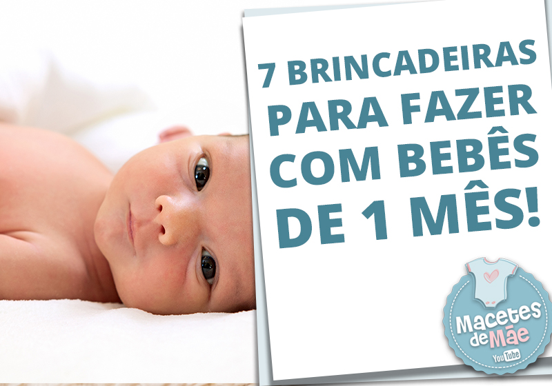 bebês de 1 mês