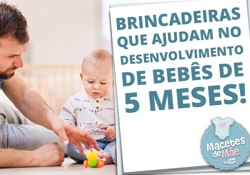 Bebês de 5 meses