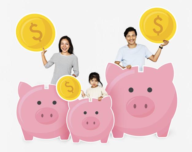 ensinar crianças a poupar dinheiro
