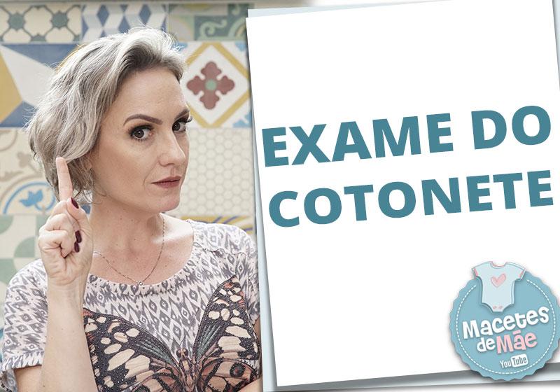 exame do cotonete