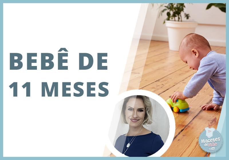bebês de 11 meses