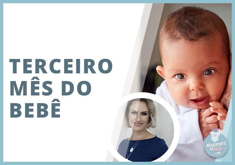 curiosidades sobre o bebê de três meses