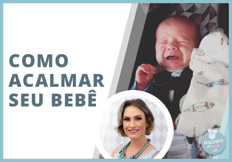 No vídeo de hoje você vai ver como acalmar o bebê irritado. Você já ouviu falar na técnica do 5s do Dr. Harvey Karp, pediatra americano membro da