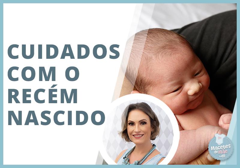 primeiros cuidados com um recém-nascido