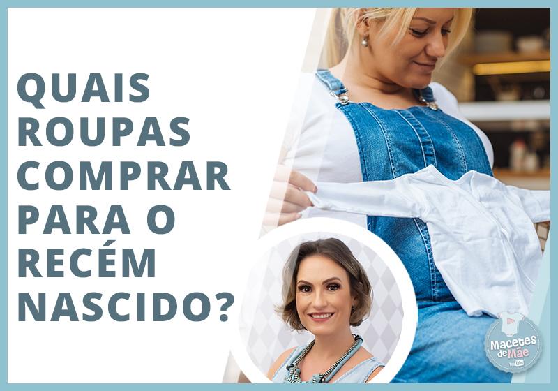 roupa comprar para o recém-nascido