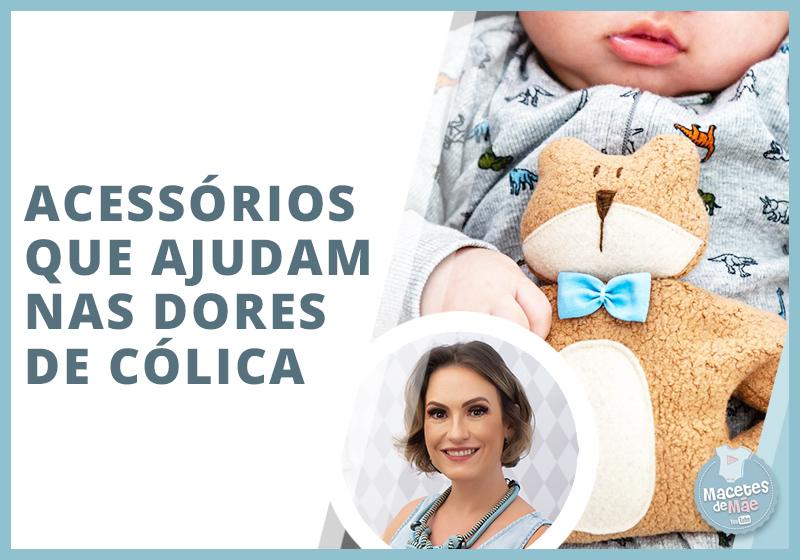Acessórios para a cólica do bebê