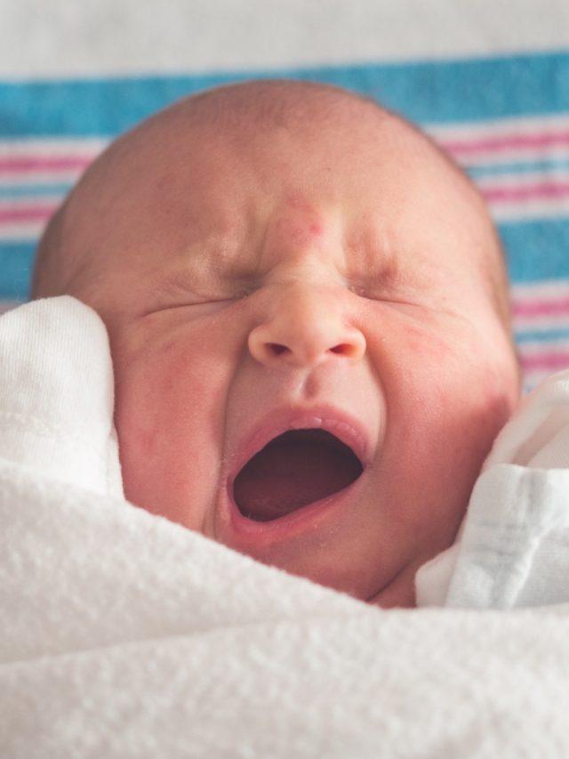 5 maiores erros do sono do bebê