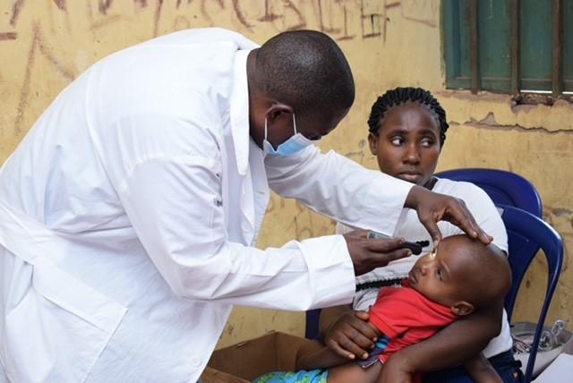 Doenças oculares entre crianças